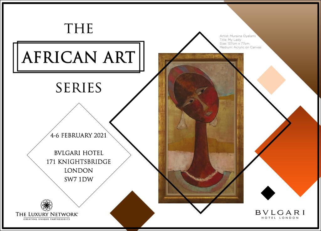 The African Art Series at Bvlgari Hotel London